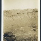 1937 Meteor Crater Tourist Photo, Awesome Snap Shot!