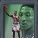 1997 Flair Showcase #16 SCOTTIE PIPPEN Row 3 PSA 10