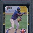 1987 Donruss #119 SHAWON DUNSTON Card PSA 10 Cubs
