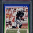 1990 Score #373 TIM BROWN Card PSA 10 Oakland Raiders
