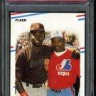 1988 Fleer #631 Tony Gwynn/Tim Raines Card PSA 10