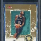 2000 Fleer Authority Prominence TIM DUNCAN BGS 9.5 /75