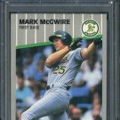 1989 Fleer #17 MARK McGWIRE Card PSA 10 Oakland A's
