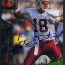 1995 Signature Rookies STEVE STENSTROM Auto RC Stanford