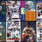 1991-1996 DAN MARINO 16 Card Lot, Miami Dolphins HOF