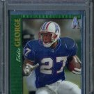 1997 Topps Chrome #49 EDDIE GEORGE Card PSA 10 Oilers