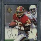1996 Ultra #160 HENRY ELLARD Auto Card PSA/DNA Redskins