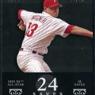 2007 Topps M&M #129 BILLY WAGNER Card Jersey #'d 13/29