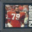 1985 Topps #237 BARNEY CHAVOUS Card PSA 9 Broncos