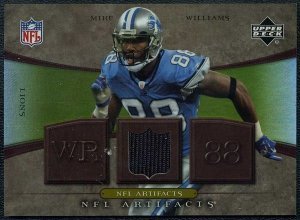 2007 UD NFL Artifacts MIKE WILLIAMS GU Jersey Card