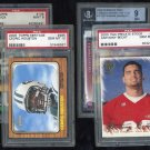 New York Jets PSA/BGS Graded Card Lot; RC's, Keyshawn+