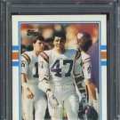 1989 Topps #75 JOEY BROWNER PSA 10 Vikings Pop 1