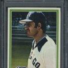 1981 Topps #716 Glenn Borgmann Card PSA 10 White Sox