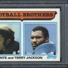 1982 Topps #268 Football Brothers (Jackson) Card PSA 10