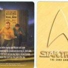 """ST:TCG/CCG 1996 Fleer Star Trek """"Living...Past"""" Promo"""