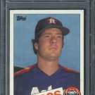 1985 Topps #634 Bill Dawley Card PSA 10 Astros