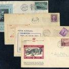 1932-1946 Event Cover Lot (4), Pennsylvania+