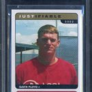 2002 Justifiable #9 GAVIN FLOYD RC BGS 9.5 White Sox
