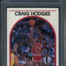 1989 Hoops #113 CRAIG HODGES Card PSA 10 Chicago Bulls