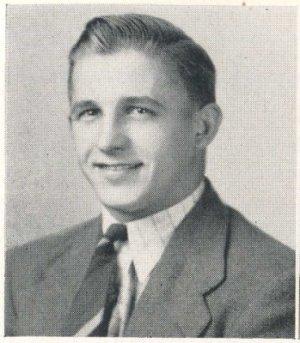 AFL 49ers RB John Strzykalski High School Yearbook
