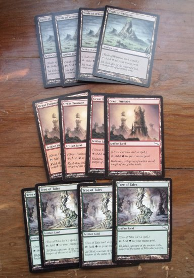 Tree of Tales, Great Furnace and Vault of Whispers Playsets!  VF-NM Magic the Gathering