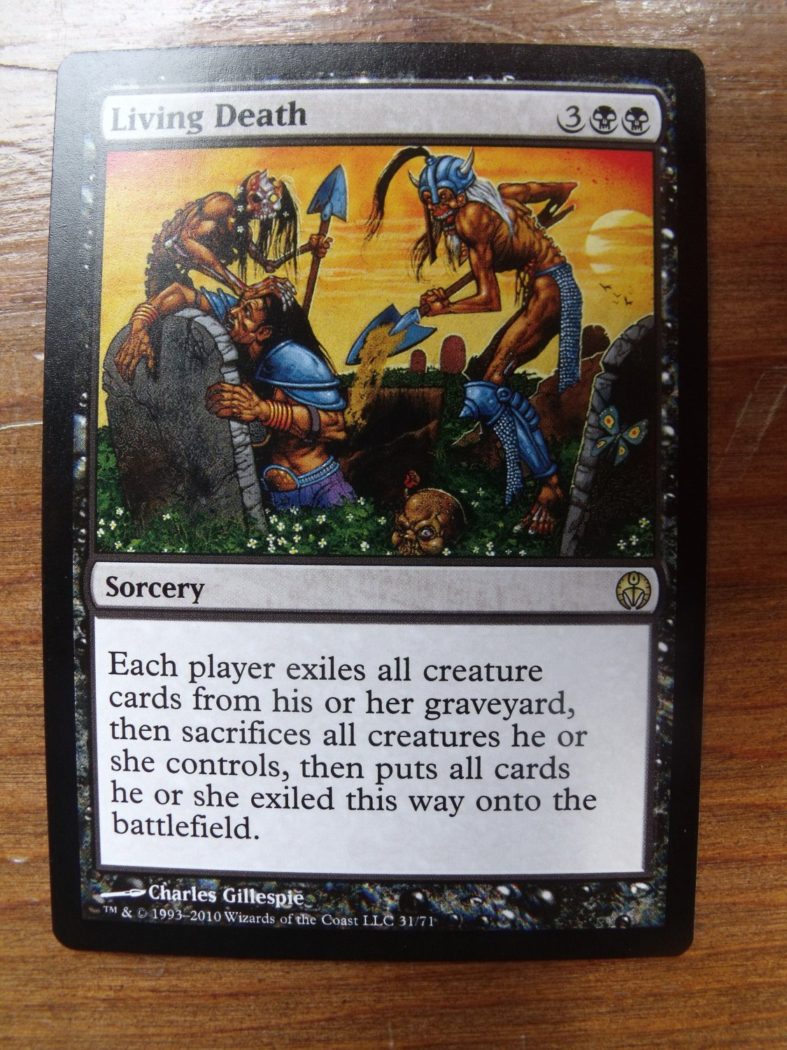 Living Death, Duel Deck, NM Magic the Gathering