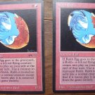 2x Rukh Egg, Arabian Nights, VF/NM Magic the Gathering