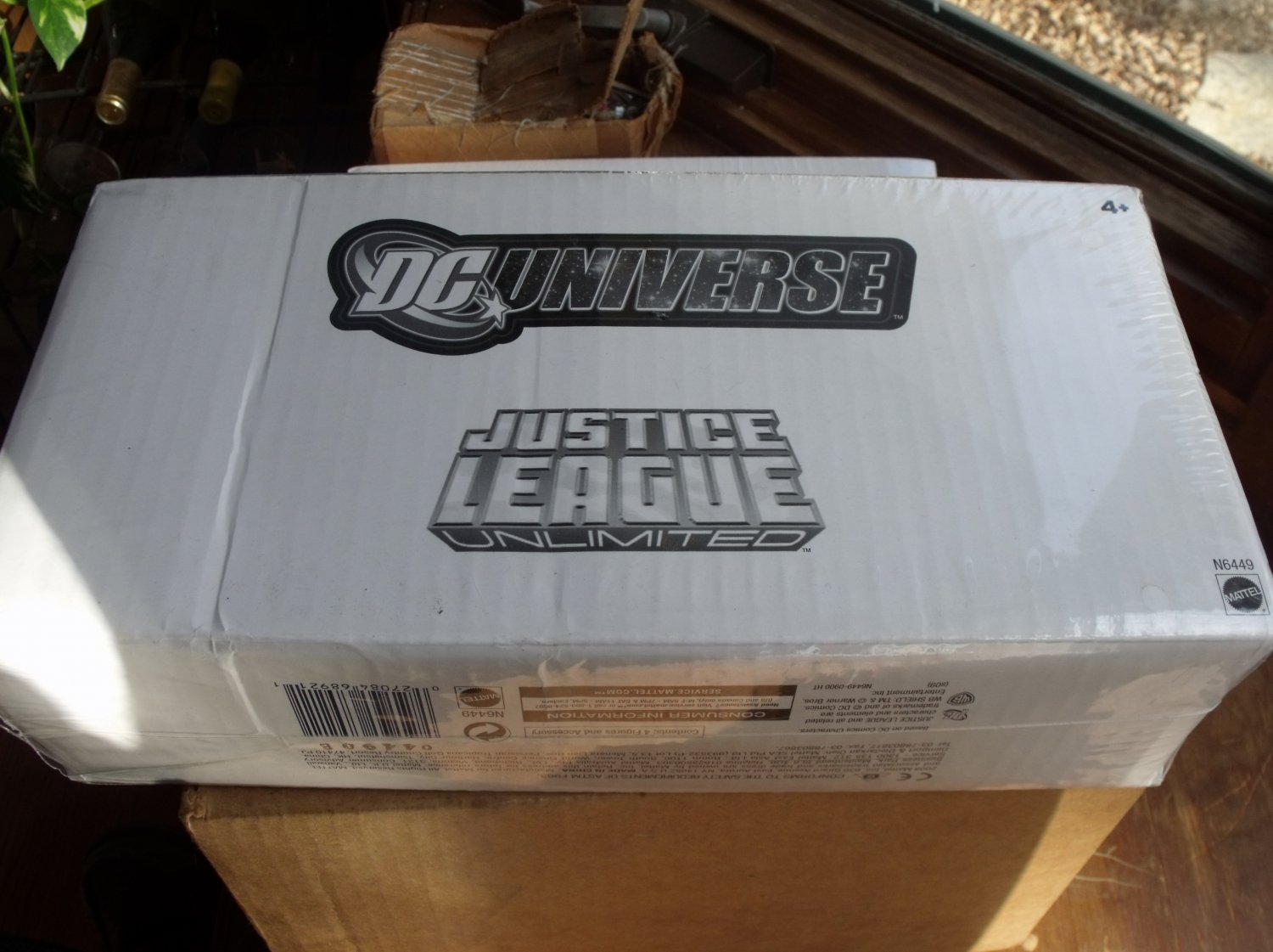 Justice League Unlimited Shazaam Family 4 Pack NIB
