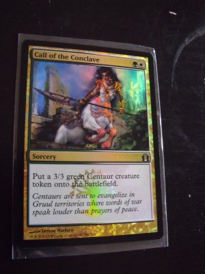 FOIL Call of the Conclave, Return to Ravnica, NM