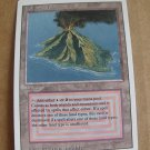 Volcanic Island, Revised Dual Land, NM  Magic the Gathering