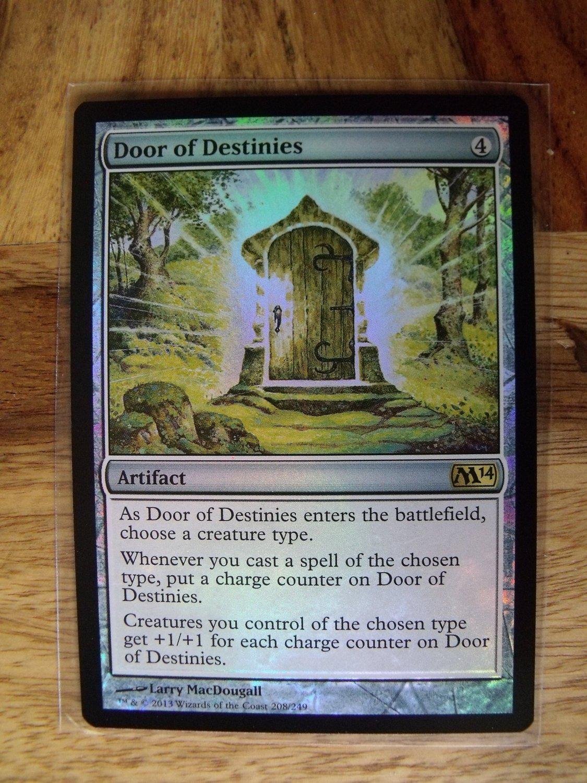 Foil door of destinies m14 nm magic the gathering for Door of destinies