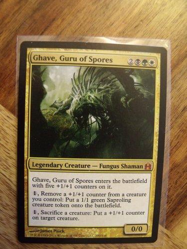 Ghave, Guru of Spores, Commander, NM   Magic the Gathering