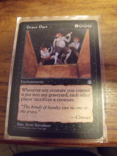 Grave Pact, Stronghold, NM  Magic the Gathering