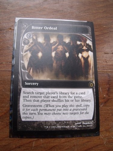 Bitter Ordeal, Future Sight, VF/NM  Magic the Gathering
