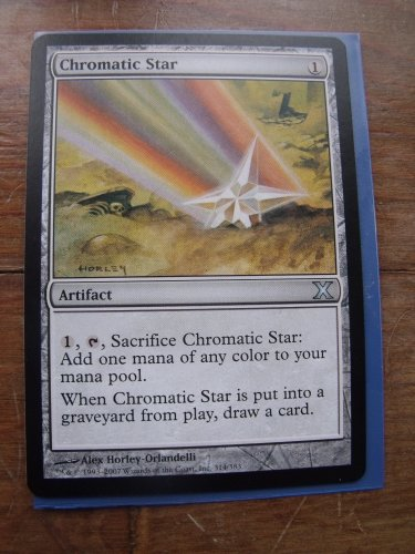 Chromatic Star, 10th Ed., NM   Magic the Gathering