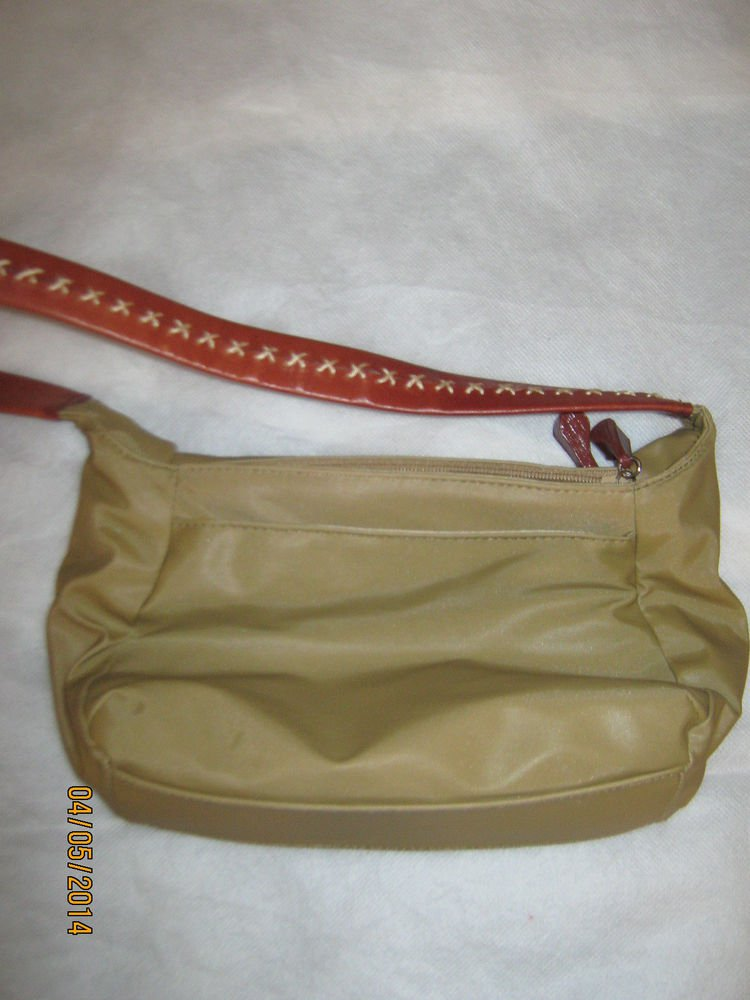 Cee Kline Khaki Shoulder Bag Purse