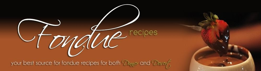 Fondue Recipes ebook on CD Printable - Great recipes for Dinner or Dessert