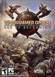 Warhammer Online: Age of Reckoning PC Game - RPG - NEW
