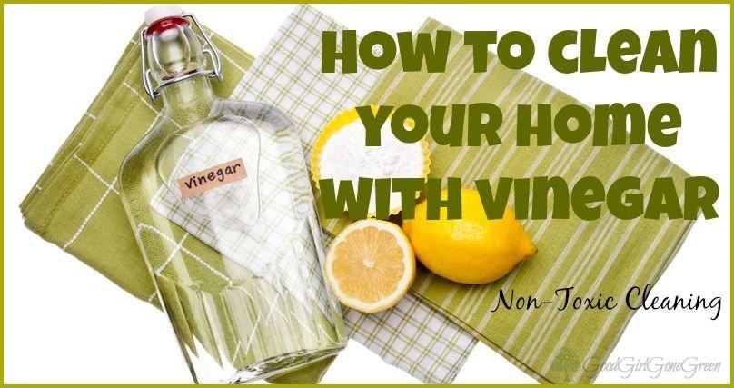 Vinegar For Cleaning eBook on CD Printable