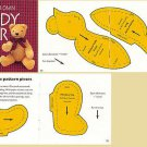 How To Make A Teddy Bear eBook on CD Printable