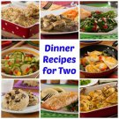 EASY MEALS for 2 Printable eBook on CD
