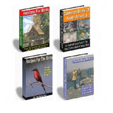 Birding For Everyone 11 eBooks on CD Printable - Great For Bird Lovers