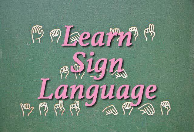 Learn Sign Language eBook on cd Printable