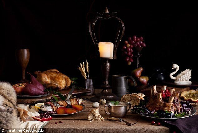 Medieval Feast Recipes eBook on CD Printable