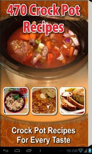 470 Crock Pot Recipes eBook on CD Printable