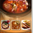 470 Crock Pot Recipes eBook on CD Printable
