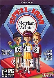 Merriam-Webster Spell-Jam PC Game