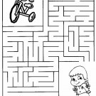 Mazes Printable Coloring eBook 54 Pages on a CD