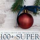 100 Homemade Christmas Special Recipes eBook on CD Printable