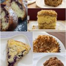 101 COFFEECAKE Recipes eBook on CD Printable